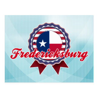 Fredericksburg, TX Postkarte