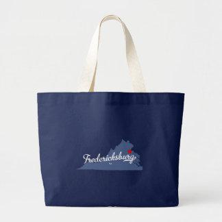 Fredericksburg Virginia VA Shirt Jumbo Stoffbeutel