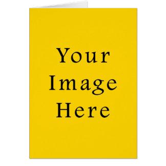 Freesia-helle gelbe FarbTrend-Raum-Schablone Karte