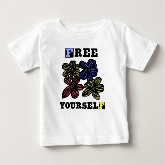 """""""Frei sich"""" Baby-T - Shirt"""
