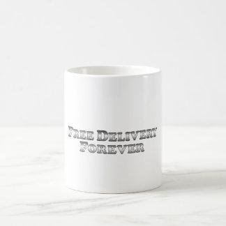 Freie Lieferung für immer - grundlegend Kaffeetasse