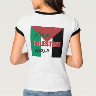 Freie palästinensische Flagge Palästinas jetzt T-Shirt