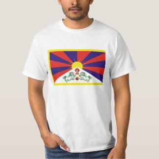 Freie Tibet-Flagge - Peu Rangzen བོད ་ རང ་ བཙན ་ T-Shirt