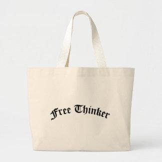 Freier Denker Jumbo Stoffbeutel