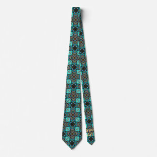 Freier Geist-Muster Individuelle Krawatte