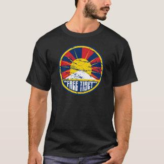 Freier runder Schmutz Tibets T-Shirt