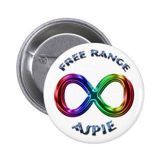 Freier Strecke Aspie Knopf Runder Button 5,7 Cm