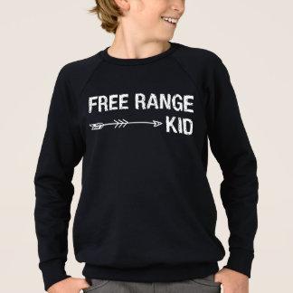 Freier Strecken-Kinderlustiger Hipster-Stammes- Sweatshirt