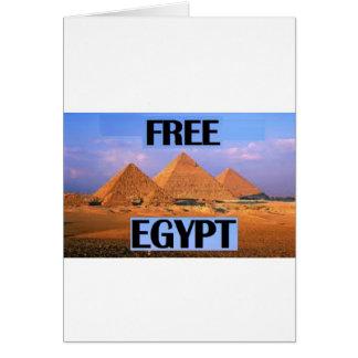 Freies Ägypten - Aufmachung der Pyramiden Karten