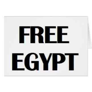 Freies Ägypten Karten