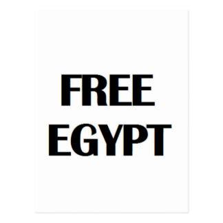 Freies Ägypten Postkarte