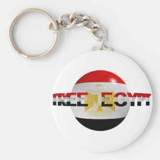 Freies Ägypten Standard Runder Schlüsselanhänger