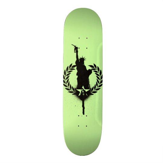 """""""Freiheit für Öl"""" verbrauchen Skate-Plattform Individuelle Skateboards"""