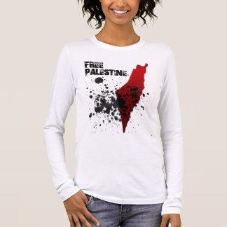 Freiheit für Palästina Langarm T-Shirt