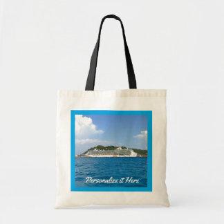 Freiheit in Sint Maarten personalisiert Tragetasche