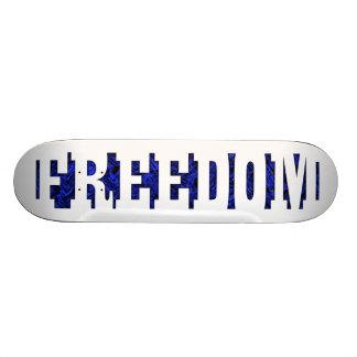 Freiheit Personalisiertes Skateboarddeck