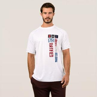 Freiheit schießt die bestätigte Religion 1791 T-Shirt
