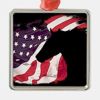 Freiheit Silbernes Ornament