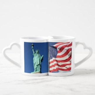 Freiheit und Flagge Liebestassen