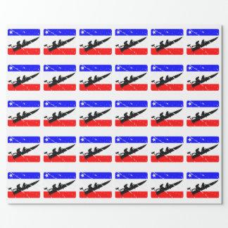 Freiheit Widerstand-Boot FLAIR Geschenkpapier