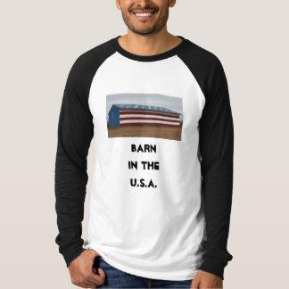 Freiheits-Scheunen-patriotisches Shirt