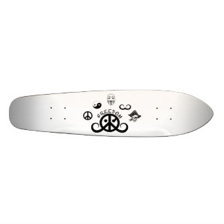 Freiheits-Skateboard (gezeigt; Ursprungsmotiv) Individuelle Skateboards