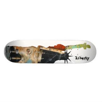 Freiheits-Skateboard Personalisierte Skatedecks