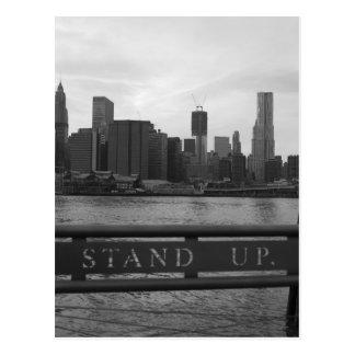 Freiheits-Turm New York City - STEHEN Sie OBEN P