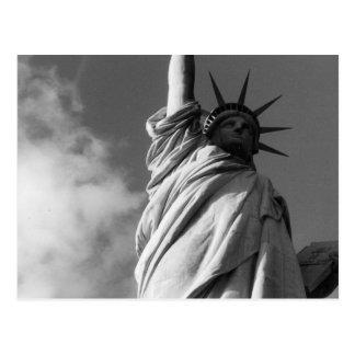 Freiheitsschwarzes u -WEISS Postkarten