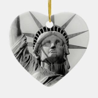 Freiheitsstatue Feiertags-Verzierung Keramik Ornament