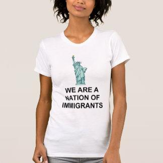 Freiheitsstatue Nation des Immigrant-Shirts T-Shirt