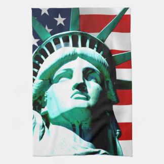 Freiheitsstatue, New York Küchentuch