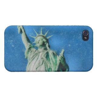 Freiheitsstatue, New- YorkAquarellmalen iPhone 4/4S Hülle