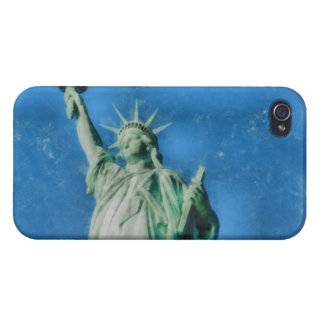 Freiheitsstatue, New- YorkAquarellmalen iPhone 4 Hülle
