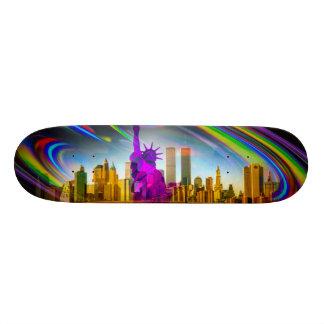 Freiheitsstatue Skateboard New York 5 Individuelles Skateboard