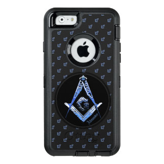Freimaurerverstand (blau) OtterBox iPhone 6/6s hülle