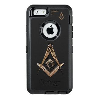 Freimaurerverstand (golden) OtterBox iPhone 6/6s hülle