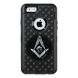 Freimaurerverstand (silbrig) OtterBox iPhone 6/6s hülle