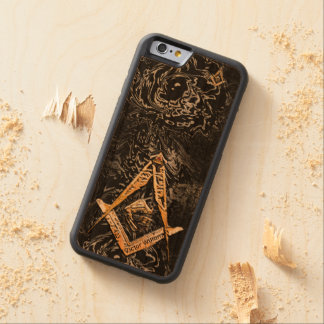 Freimaurerverstand (YellowSwish) Bumper iPhone 6 Hülle Kirsche