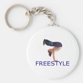 Freistil Breakdancing B Junge Schlüsselanhänger