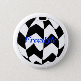 Freistil Runder Button 5,7 Cm