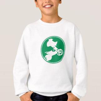 Freistilmotocross-großes Geschenk Sweatshirt