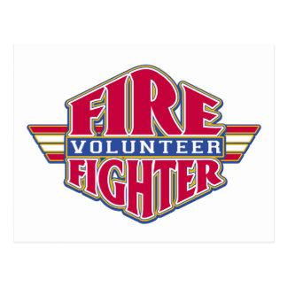 Freiwilliger Feuerwehrmann Postkarten