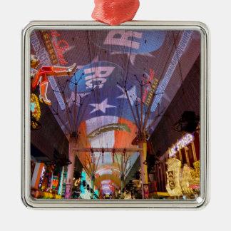 Fremont-Straßen-Erfahrung Silbernes Ornament