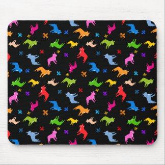 French Bulldog pattern Mousepads