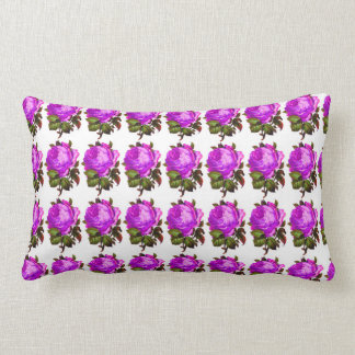 French_Spring_Floral_Violet-Rose_Lumbar_Accent Lendenkissen