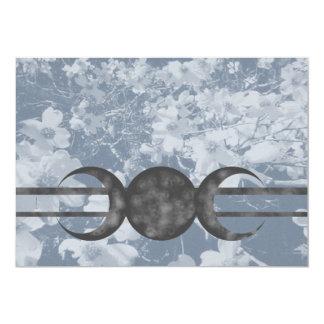 Frequentierende Hartriegel-dreifache Mond Karte