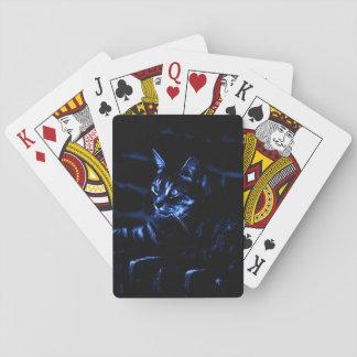 Frequentierende Katzen-Spielkarten Spielkarten