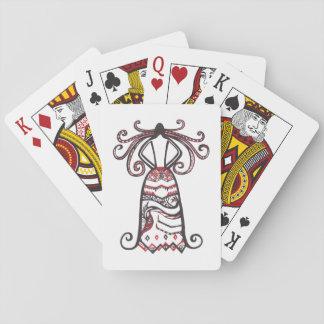 Frequentierende Schönheit Spielkarten