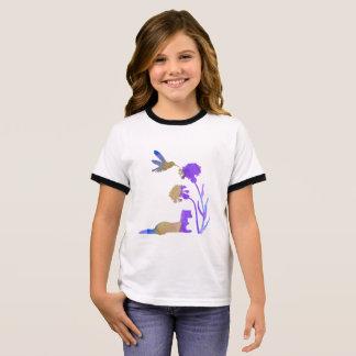 Frettchen-Kunst Ringer T-Shirt